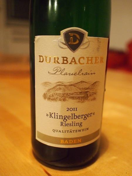 "Durbacher Riesling ""Klingelberger"" Plauelrain"
