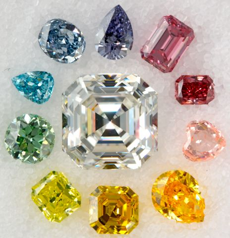 Color Diamond Clarity    In a white diamond, clarity can make or break the stone, and VS clarity is usually ideal. But for fancy color diamonds, clarity is not the most important factor.