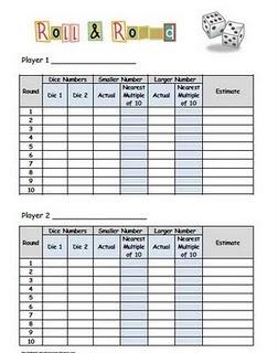 Math- Rounding Game