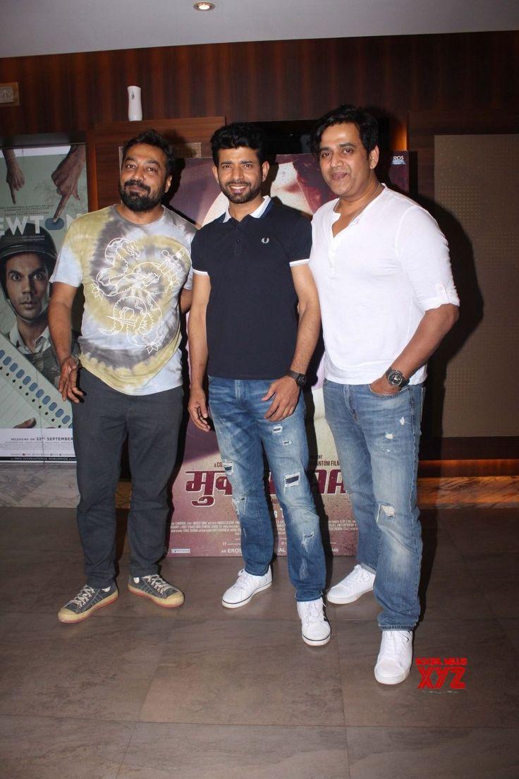 "Mumbai: Anurag Kashyap, Ravi Kishan and Vineet Kumar Singhat Special screening of film ""Mukkabaaz"" - Social News XYZ"