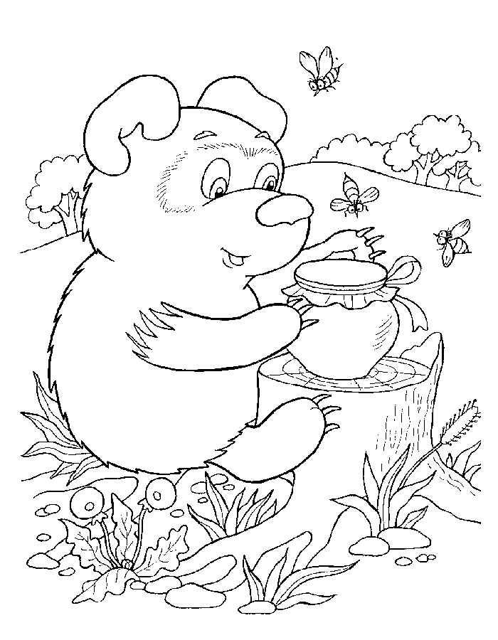 Раскраски для детей 5 лет - состоят уже из знакомых сцен и картин для ребёнка. Тут он найдёт любимых героев мультиков, знакомые вещи и предметы.