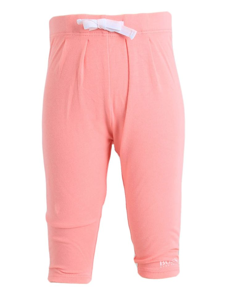 Boss Pink Cotton Leggings | Accent Clothing