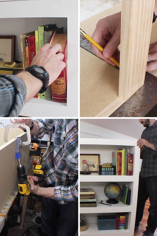 How to: Make a Secret Door Bookcase (The kind that you pull a book and it opens!) :) INSTRUCTIONS