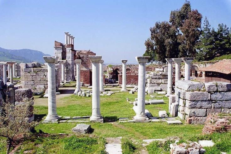 The Basilica of St. John, Ephesus