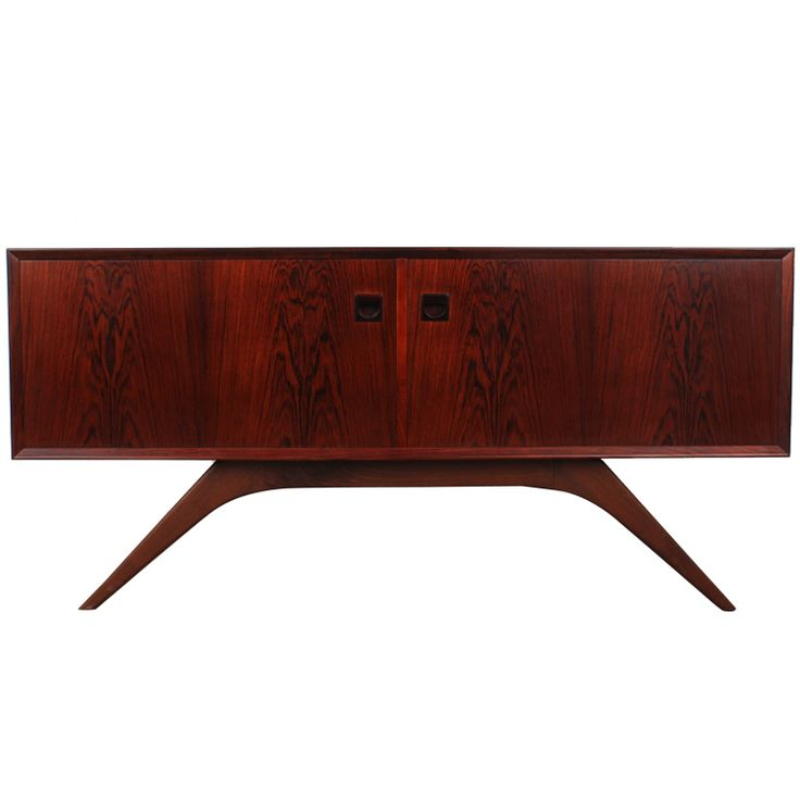 1960s Rosewood Mid Century Sideboard by Brouer, Denmark