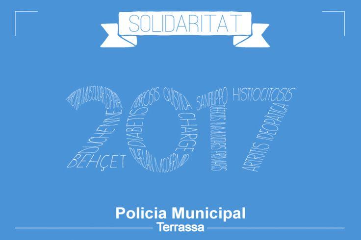 Pallapupas y la Policía de Tarrasa se alían para hacer reír a los niños. Más información en http://wp.me/p2LtHV-30 #payasos #niños #enfermos #calendario