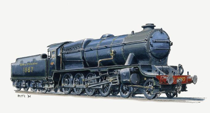 Maunsell Proposed480 - Alternative Design History - Modellers' Galleries - RMweb