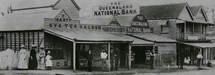 High St,Toowong in Queensland in 1900. Toowong and District Historical Society.
