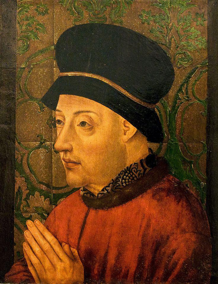 Anoniem - Koning Johan I van Portugal (1450-1500) - Lissabon Museu Nacional de Arte Antiga 19-10-2010 16-12-61 - João I de Portugal.