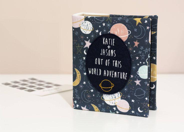 Travel gift, couples gift idea  Constellation photo album, travel photo album, adventure album, personalised photo album by KnightandGray on Etsy