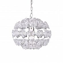Contemporary transparent ceiling lamp Rose by Tomasucci