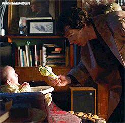 [GIF] SHERLOCK S4 E1: The Six Thatchers. Benedict Cumberbatch