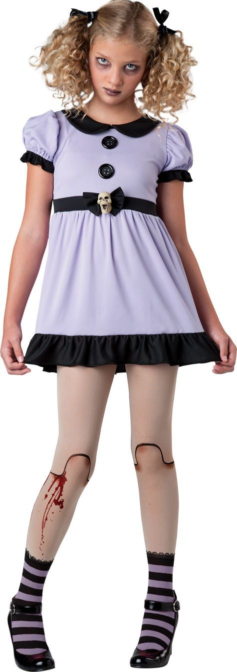 Girls Dead Doll Costume - Party City so creepy so  girly so awesome so cool