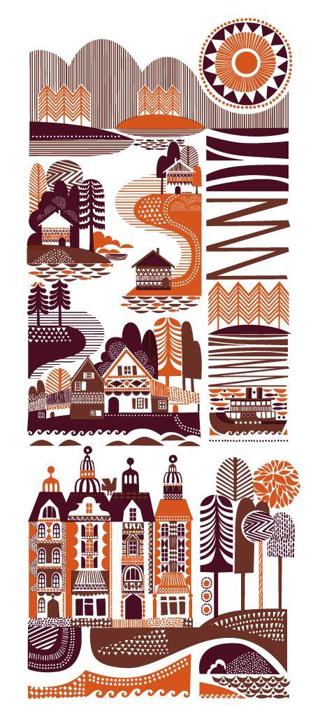 Sanna Annukka 'The Shamans Tepee', 'Archipelago' + 'Spirits Of The North' Prints Available - PostersAndPrintsBlog - postersandprints.squarespace.com