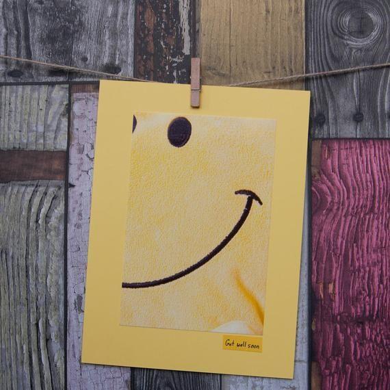Get Well Soon Card Birthday Card Mr Happy Mr Men Smile Yellow Cards Birthday Cards Cards Handmade