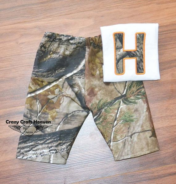 Baby Camo outfit Hunting outfit Little hunting by CrazyCraftHeaven, $24.00