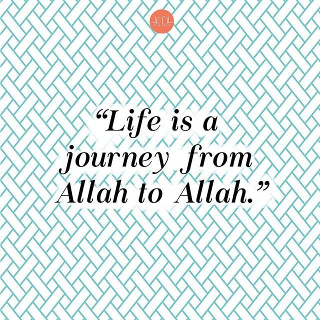 Because the whole universe belongs to Allah SWT. And to Him we shall return. .
