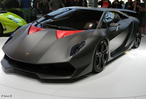 Lamborghini Elemento A Car That Stuns In Matte Black And