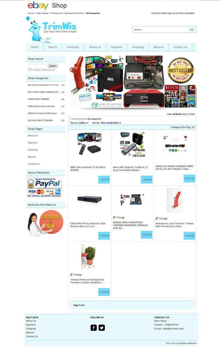Our excellent, awesome, neat and clean new ‪#‎Topshop‬ ‪#‎eBayShopDesign‬ for Trimwiz.co.uk!..Online ‪#‎PlantTrimmer‬ items checkout: http://stores.ebay.co.uk/trimwizcomhydroponictrimmer