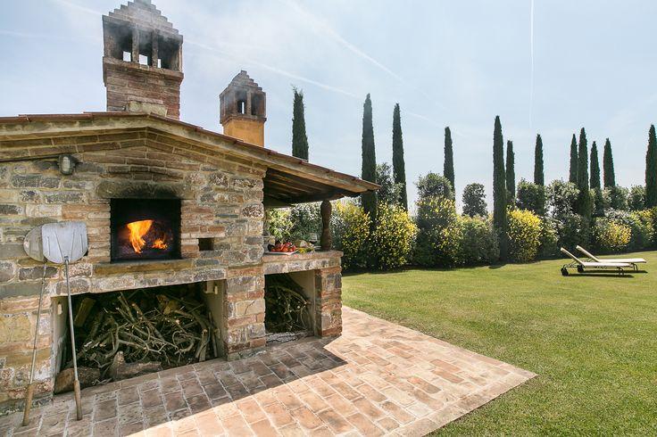 Old style furnace #tuscany #villa #furnace
