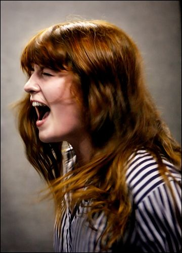 Florence and the Machine, 2007 / Photographed by Jill Furmanovsky
