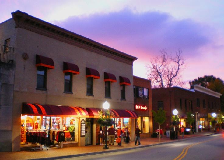 Downtown Blacksburg Restaurants