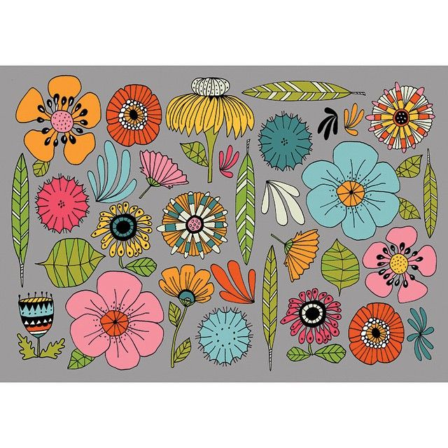 Lisa Congdon... I have her flower book and it's great!