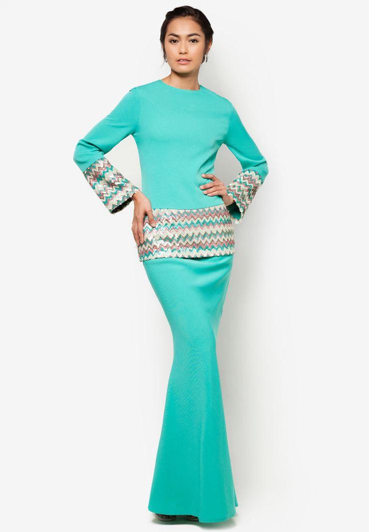 emel x Liyana Jasmay Jameela Modern Kurung With Sequins | ZALORA 2015
