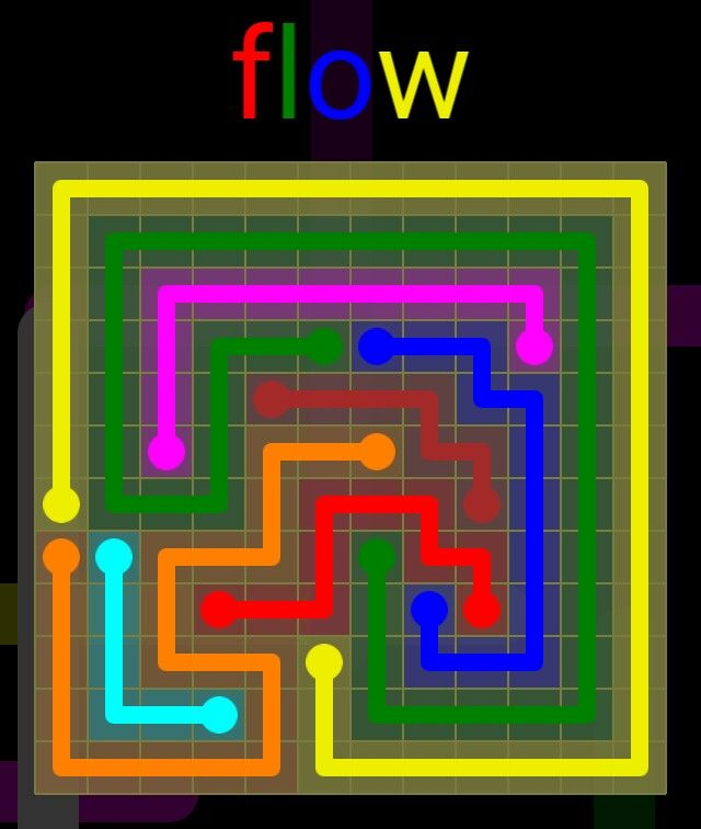 Flow Extreme Pack 2 - 12x12 - level 23 solution