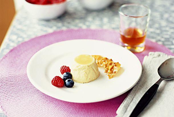Paolos pannacotta med honung och kaffe | Recept från Köket.se