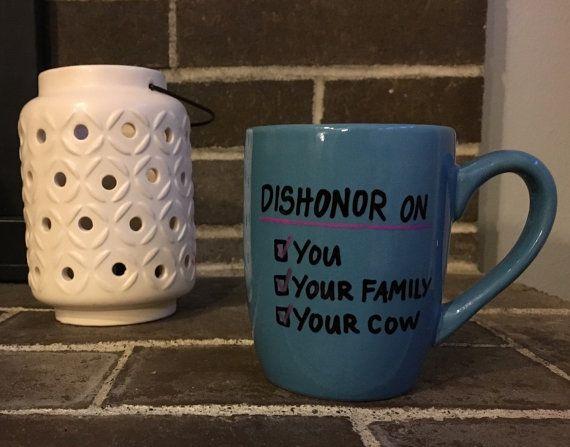 Deshonra en su familia en la vaca. Mulan por BasicallyDelightful -etsy