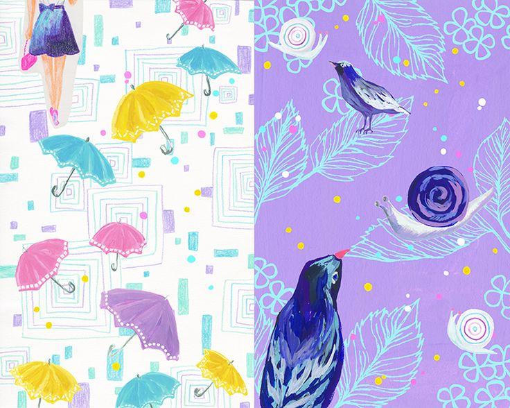 #animal #frame #枠 #動物 #広告 #花 #flower #デザイン #お洒落 #可愛い #線画 #コラージュ #collage #illustration #kanakobayashi #art #illust #rain #季節 #seasons