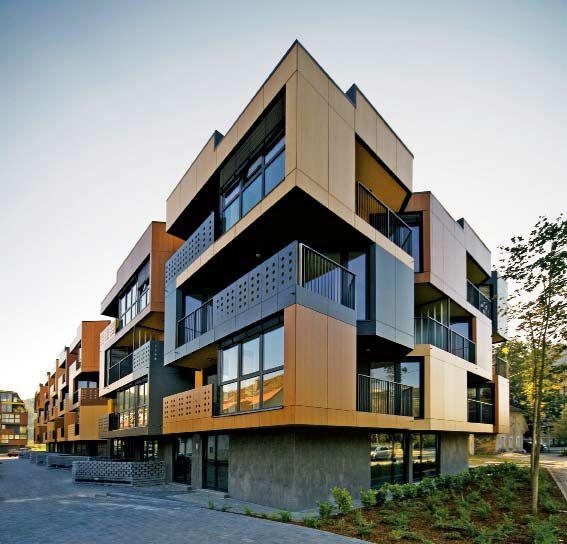 Tetris Apartments, Ljubljana, Slovenia. Homes For The