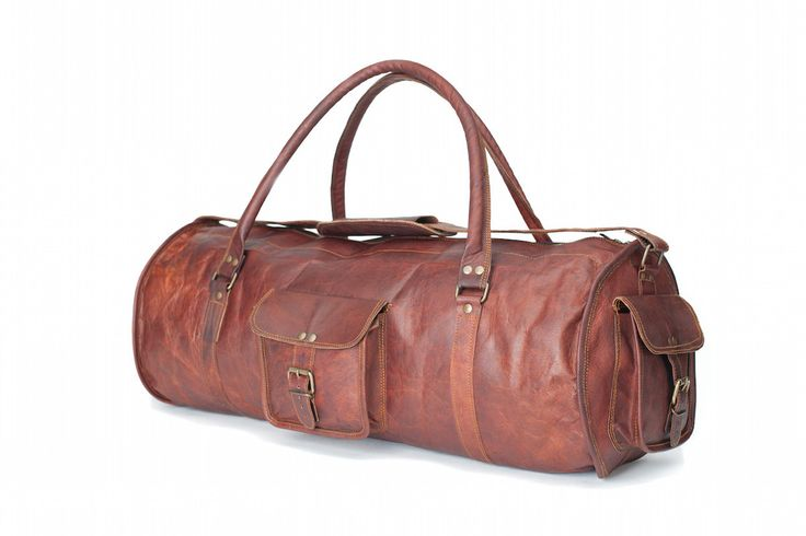 Leather holdall bags online