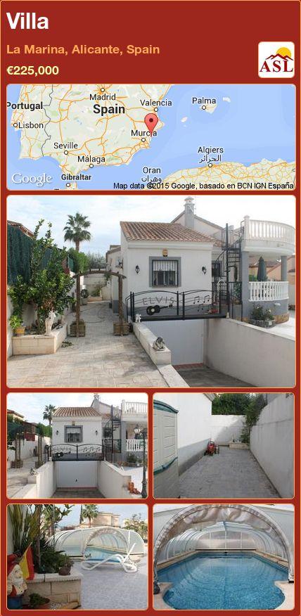 Villa in La Marina, Alicante, Spain ►€225,000 #PropertyForSaleInSpain