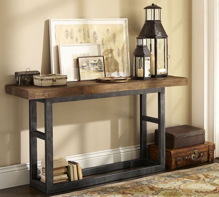 Best 25 entryway console table ideas on pinterest for Pottery barn foyer ideas