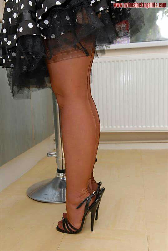Sexy High Heeled Shoes Garters Thigh High Stockings