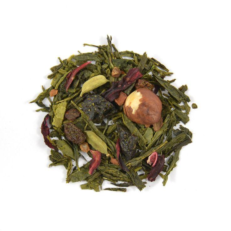 Cinnamon Green is een verrassend lekkere thee melange met een subtiele kruidige smaak en aroma van kaneel en kardemom.