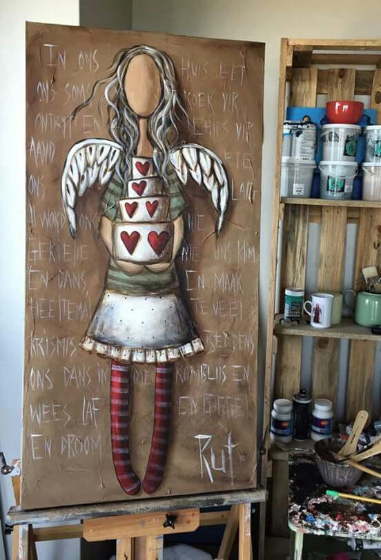 You Are Strong >> 24 best images about Rut Art on Pinterest   Afrikaans, Meditation and God