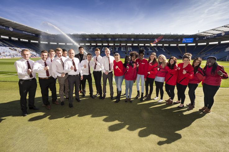 DMU's Varsity football teams enjoyed a day out at the King Power Stadium, home of Leicester City FC.