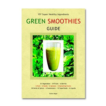 Green Smoothies can be made from a huge variety of whole, raw vegetables, fruit and other nourishing ingredients. Many creative combinations are possible. The Green Smoothies Guide introduces 157 popular smoothie ingredients and provides a nutritional overview of each.