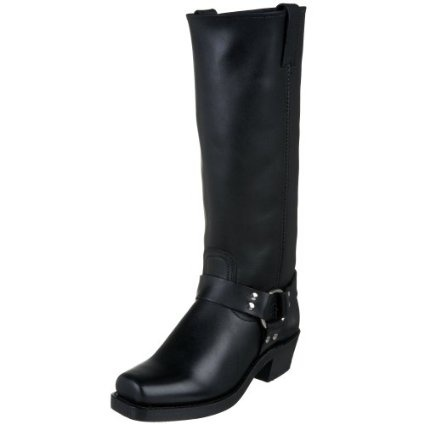 These boots are awesome. They are so comfortable to walk in and I love the height. I get many compliments on them because they're different, Nordstrom doesn't sell this height either so I'm a big fan.Harness 15R, Harness Boots, Cowboy Boots, Black Boots, 15R Boots, Women Harness, Frye Women, Women Boots, Frye Harness