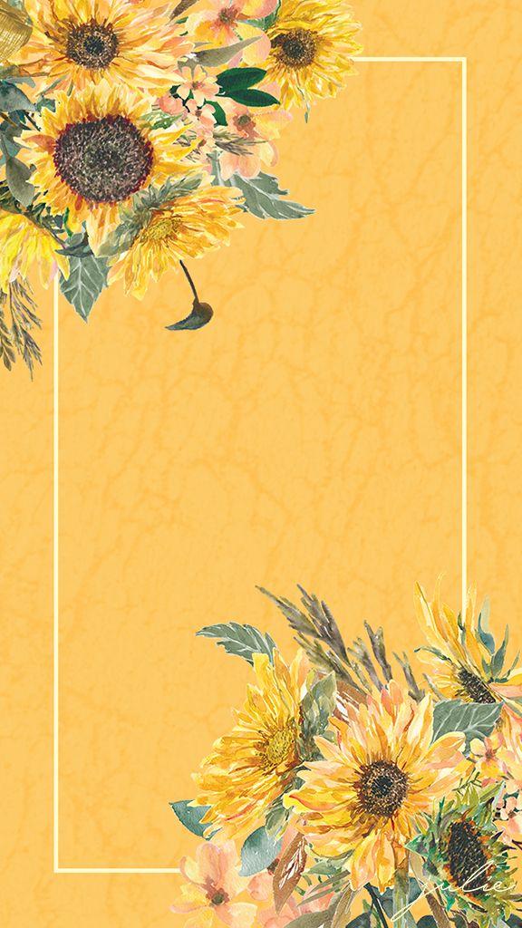 Wallpaper Yellow Flower Wallpaper Cute Flower Wallpapers Flower Wallpaper