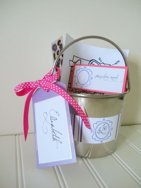 kids wedding reception activities - T, I did similar packages for kiddos