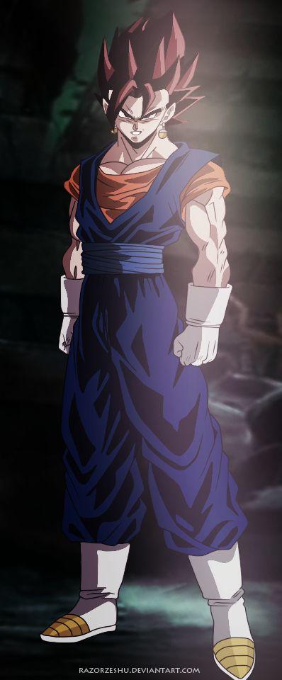 Dragon Ball Super Manga 23 - Vegetto by razorzeshu