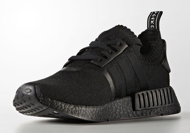 Adidas NMD R1 PK Triple Black   BZ0220 Release Date: August 11, 2017 $ 170 Size Run: Mens Color: Core Black/Core Black/Core Black Style Code: BZ0220