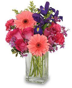 Spring Party Floral Arrangment