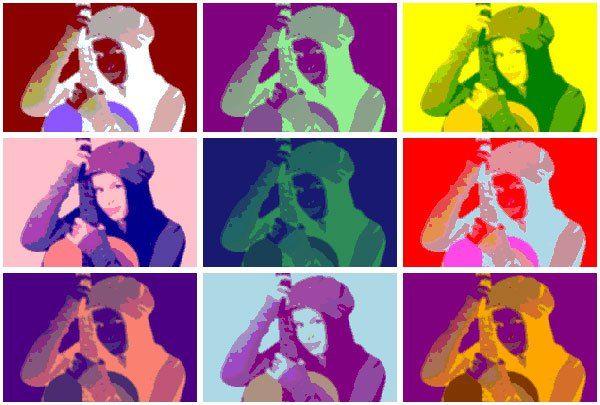 Efek Pop Art Online Dengan LunaPic.