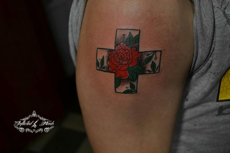 #rose tattoo
