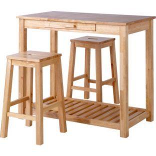 Buy Aspen Bar Table Set at Argos.co.uk - Your Online Shop for  sc 1 st  Pinterest & 9 best Kitchen ideas images on Pinterest | Kitchen ideas Cooking ...